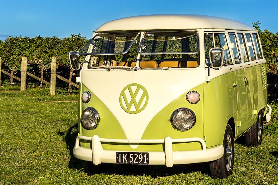 A timeless favourite, our 1975 VW Kombi