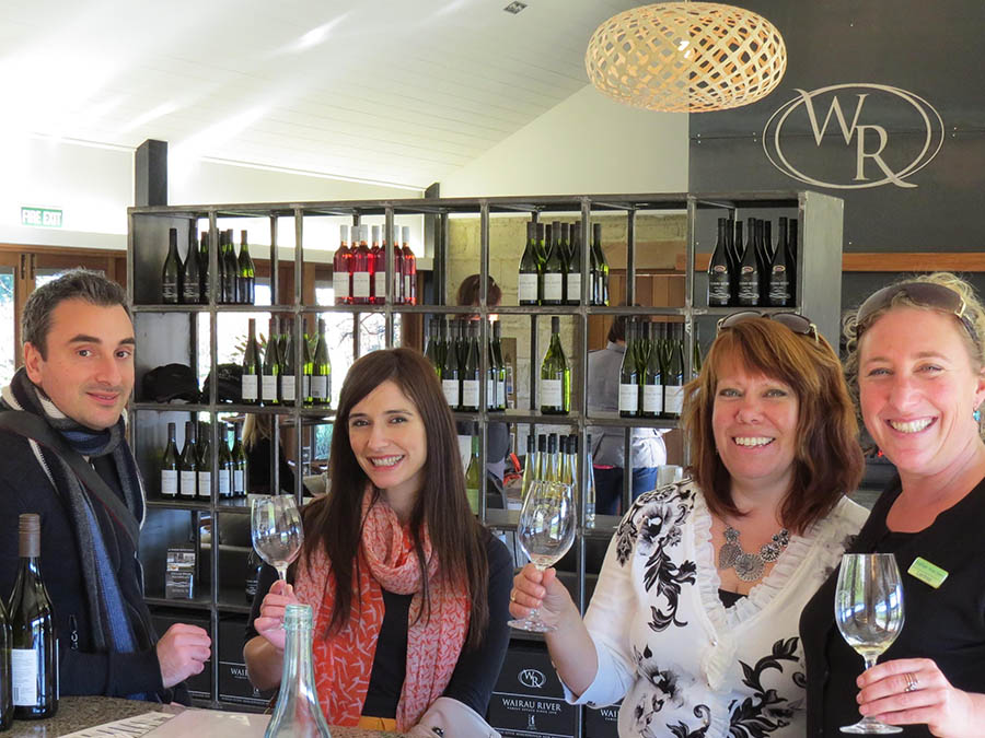 Visiting wineries tailored to your taste in wine, selected by us or your choice